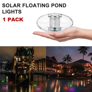 Link to 1 / 2 PCS Solar Floating Lights Pond Lights Pool Lights Color Changing Light Floating Ball Lights Waterproof Similar Items in Night Lights