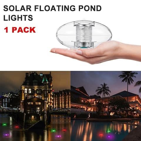 1 / 2 PCS Solar Floating Lights Pond Lights Pool Lights Color Changing Light Floating Ball Lights Waterproof