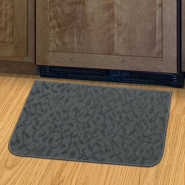 Shop Porch Den Helvetia Cinder Grey Ivy Pattern Kitchen Door