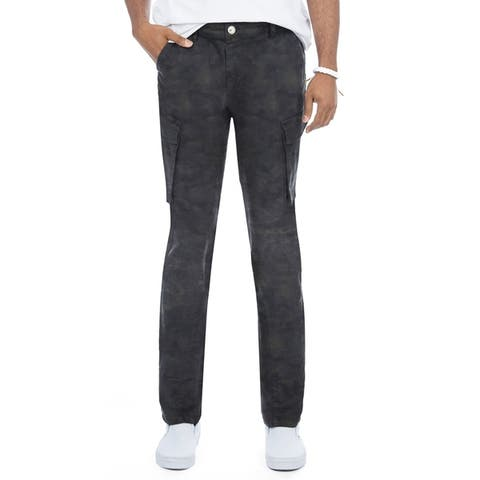 X RAY Men's Slim Fit Casual Cargo Pants