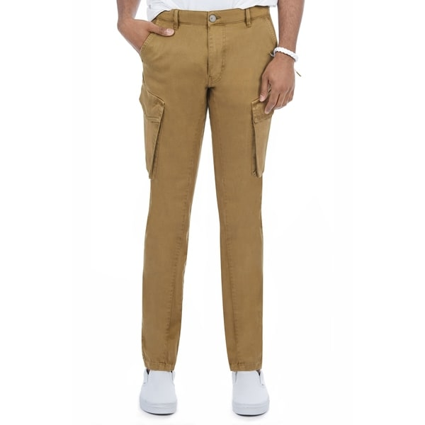 X RAY Mens Slim Fit Casual Cargo Pants