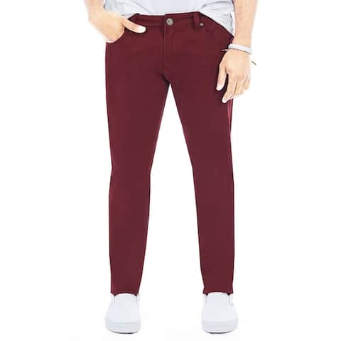 XRAY Mens Slim Fit Colored Jeans Pants, Casual Style, Five Pocket