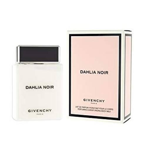 Dahlia Noir for Women by Givenchy Body Milk Tester 6.7 Oz
