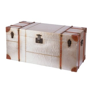 Link to Industrial Wooden Aluminum Storage Trunk with Lockable Latches, Large Similar Items in Decorative Accessories