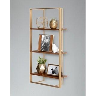 Kate and Laurel Kercheval Modern Wood Shelf - 15x32