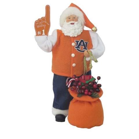 """Santas Workshop Auburn Santa 12"""""""