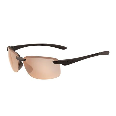 Bolle Flyair 64mm Wrap-Around Phantom Sport Sunglasses (Matte Black) - Medium