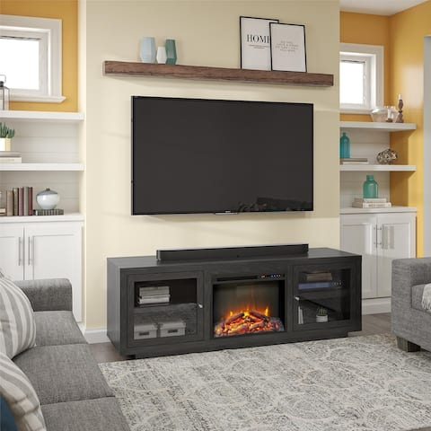 Avenue Greene Addison Fireplace TV Stand for TVs up to 75 inches - N/A