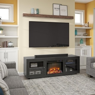 Avenue Greene Addison Fireplace TV Stand for TVs up to 75 inches