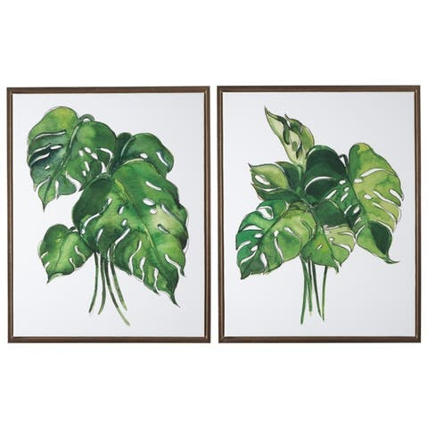 The Curated Nomad 2-piece Botanical Wall Art Set