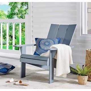 Acacia Adirondack Chair, Grey