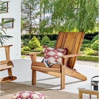 Acacia Adirondack Chair, Natural