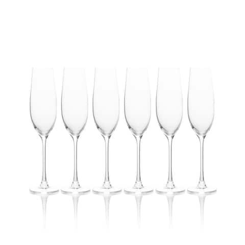 Mikasa Stiletto Champagne Flute, Set Of 6, 8.75-Ounce