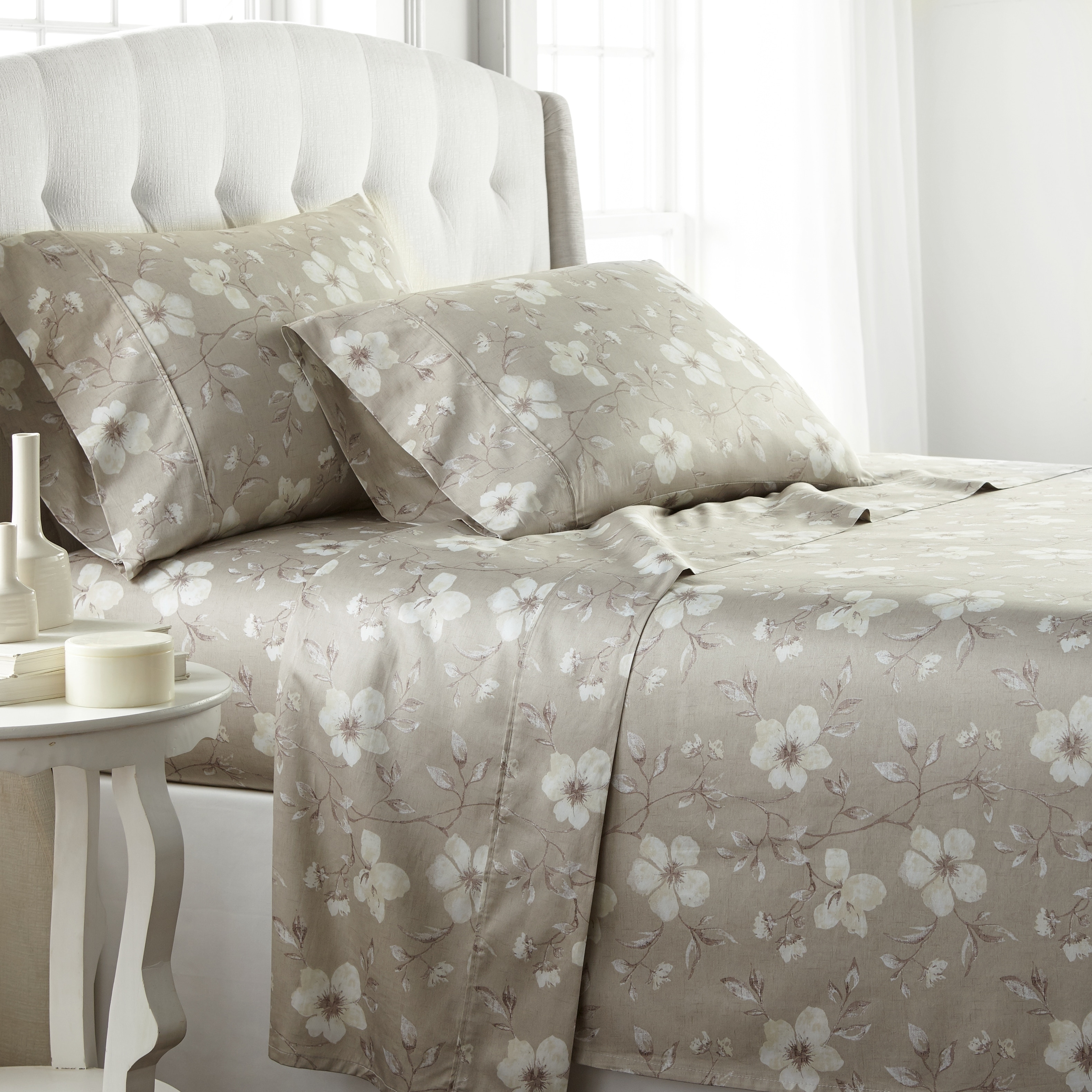 Extra Deep Pocket Bedding Collection 1200 TC Select Item /& Size Moss Solid