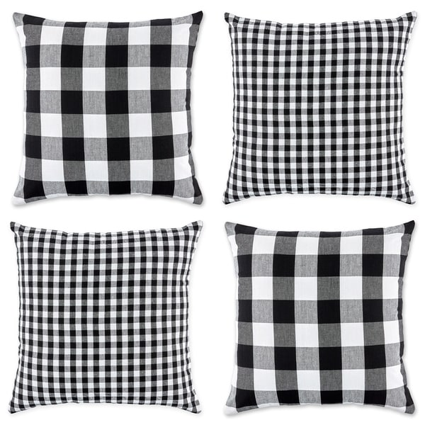Porch & Den Crestline Gingham Pillow Covers. Opens flyout.