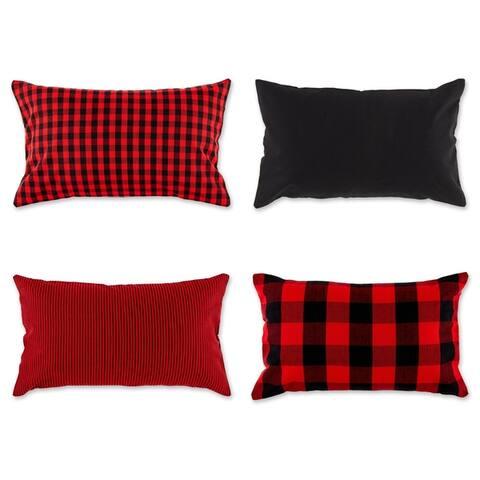 Porch & Den Crestline Gingham Pillow Covers