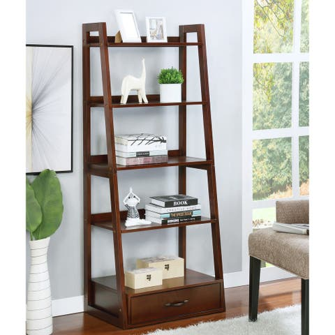 Copper Grove Stryi Contemporary 5-tier Ladder Bookshelf