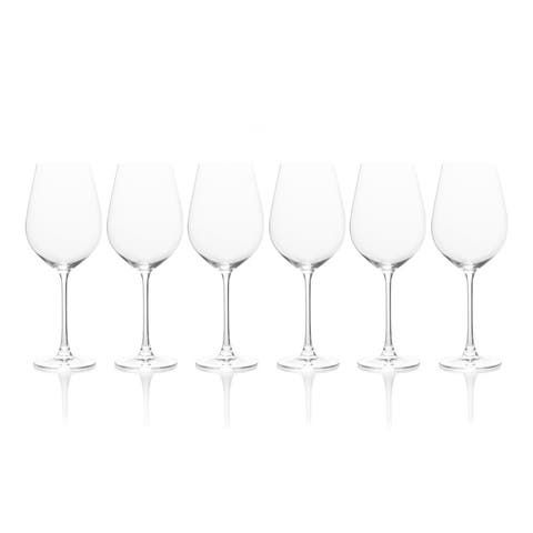Mikasa Stiletto Red Wine Glass, Set Of 6, 21.75-Ounce
