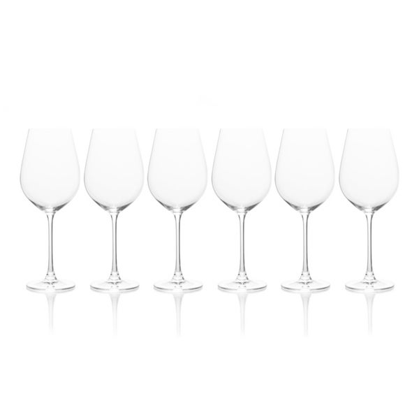 Mikasa Stiletto Red Wine Glass, Set Of 6, 21.75-Ounce