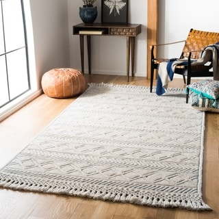 Safavieh Handmade Casablanca Shag Stoyna Tribal Wool Rug