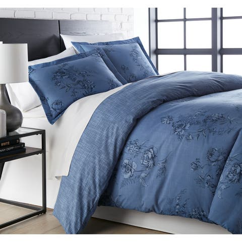 Vilano Premium Ultra-Soft Harmony 3-piece Duvet Cover and Sham Set