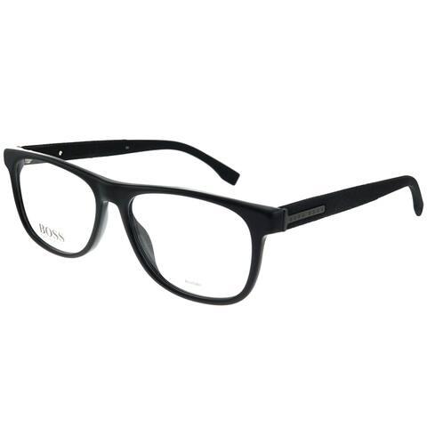 Hugo Boss BOSS 0985 807 55mm Unisex Black Frame Eyeglasses 55mm