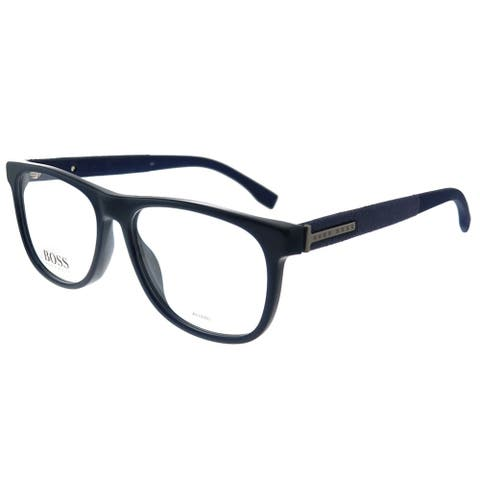 Hugo Boss BOSS 0985 PJP 55mm Unisex Blue Frame Eyeglasses 55mm