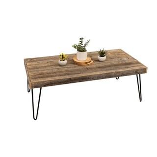 Carbon Loft Salazar Handmade Reclaimed Wood Coffee Table