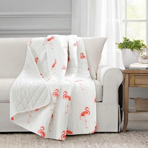 Lush Decor Kelly Flamingo Throw Blanket