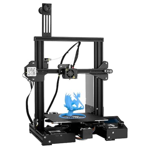High Accuracy Modular 3D Printer Auto-Leveling Low Friction Resume Print