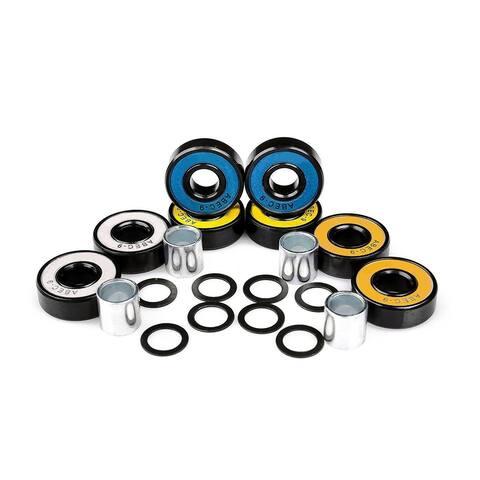 New High Quality Chrome Steel Multicolor Skateboard Longboard Bearings Kit Sports Accessories