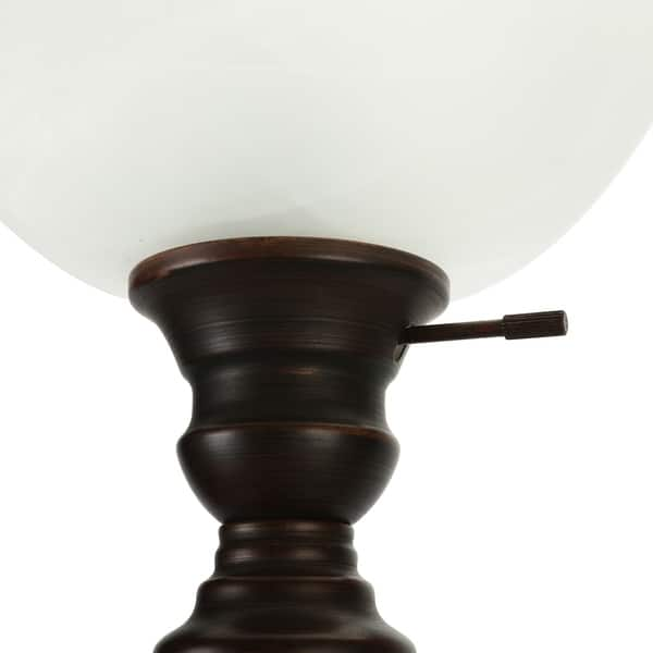 Co Z 72 Inch Antique Oil Rubbed Bronze Torchiere Floor Lamp Overstock 28994985