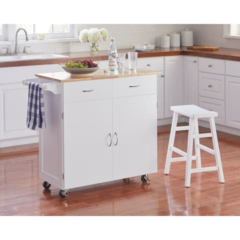 Simple Living Kipton Kitchen Cart
