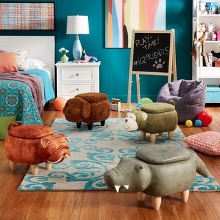 Link to iQ Friends Animal Storage Ottomans by iNSPIRE Q Junior Similar Items in Kids' Ottomans & Gliders