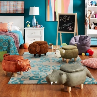 iQ Friends Animal Storage Ottomans by iNSPIRE Q Junior