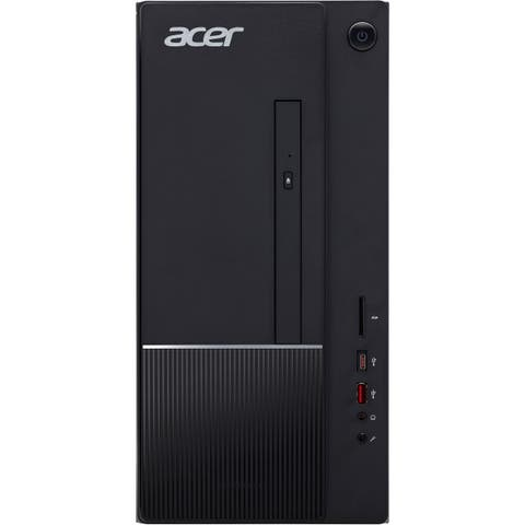 Acer Aspire TC Desktop Intel Core i5-8400 2.8GHz 8GB Ram 1TB HDD 16GB SSD W10H - Refurbished