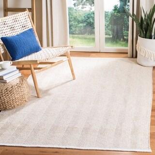 Safavieh Handmade Nantucket Lydianne Modern & Contemporary Geometric Cotton Rug