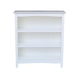 Shaker Bookcase with a White Finish