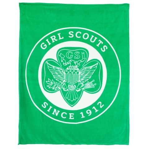 "48"" X 60"" Super-soft Fleece Blanket - Girl Scouts®"