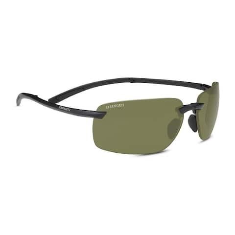 Serengeti Vernazza 65mm Polarized Sunglasses (Matte Black) - Large