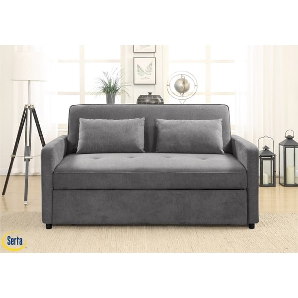 Phenomenal Shop Serta Falstaff Convertible Sofa To Queen Bed On Sale Evergreenethics Interior Chair Design Evergreenethicsorg