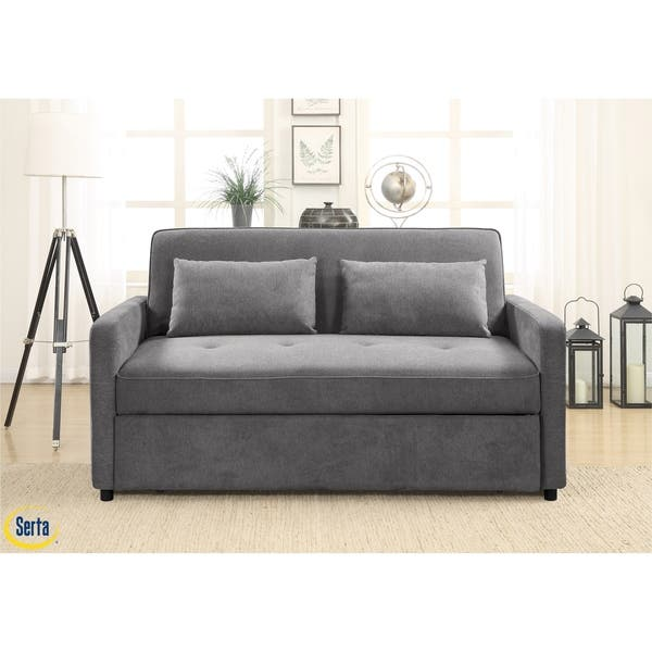 Wondrous Shop Serta Falstaff Convertible Sofa To Queen Bed On Sale Ibusinesslaw Wood Chair Design Ideas Ibusinesslaworg