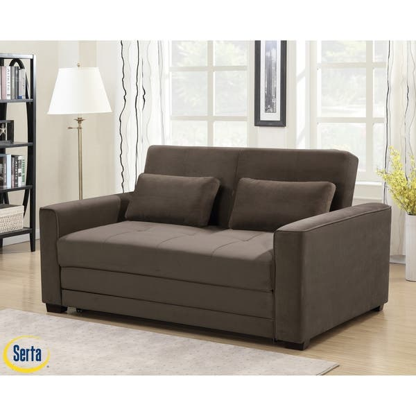 Shop Serta® Waterbury Convertible Sofa - On Sale - Free ...