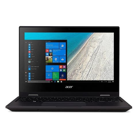 Acer Travelmate Spin B1 Intel Celeron 1.1 GHz 4 GB Ram 64GB SSD W10S Refurbished