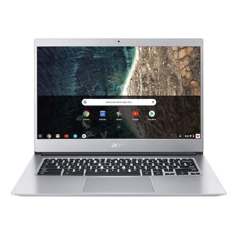 Acer Chromebook 514 Intel Celeron N3350 1.10GHz 4GB Ram 32GB Flash Chrome OS Refurbished