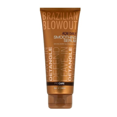Brazilian Blowout Acai Daily Smoothing Serum, 8 Oz