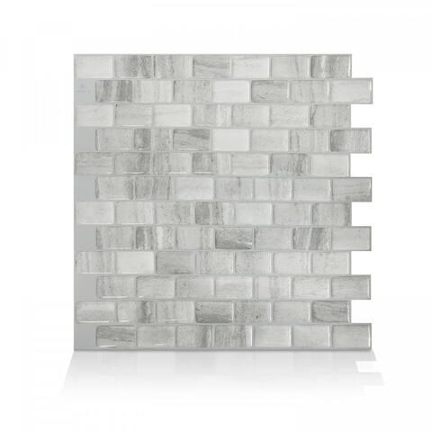 Ravenna Armano Peel and Stick Mosaic Backsplash (4-Pack)