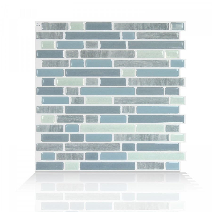 - Shop Bellagio Alario Peel And Stick Mosaic Backsplash (4-Pack