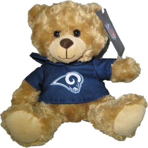 NFL Los Angeles Rams 9-inch Rally Hoodie Teddy Bear