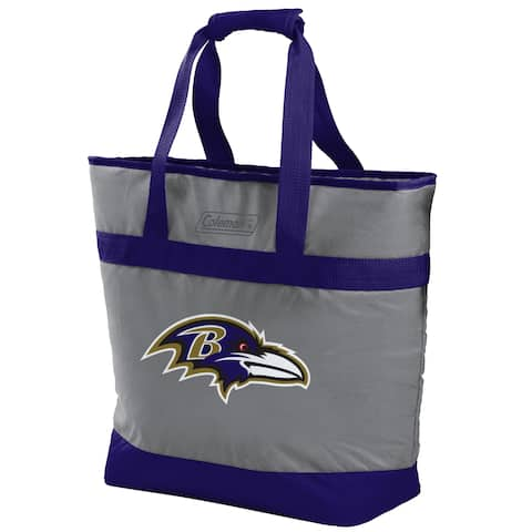 Rawlings NFL Baltimore Ravens 30 Can Soft Tote Cooler